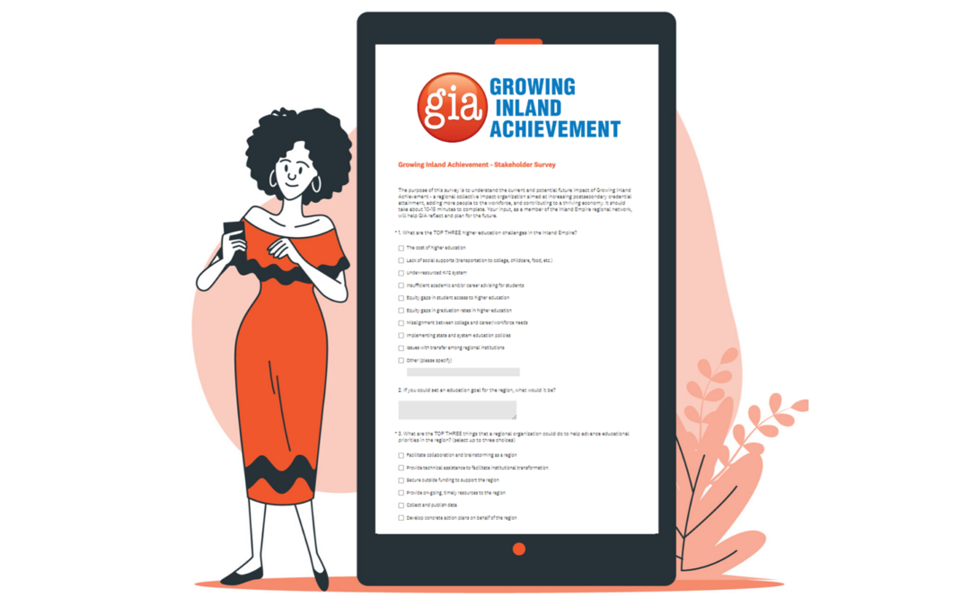 Growing Inland Achievement Regional Survey