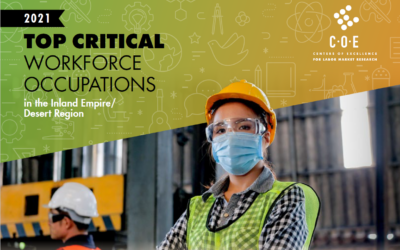 2021 Top Critical Workforce Occupations in the Region